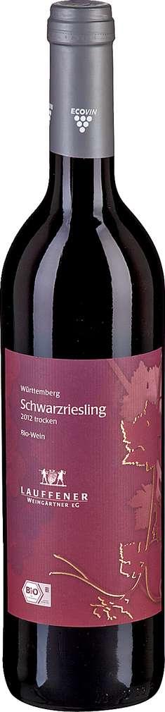 Abbildung des Sortimentsartikels Lauffener Weingärtner Schwarzriesling trocken 0,75l
