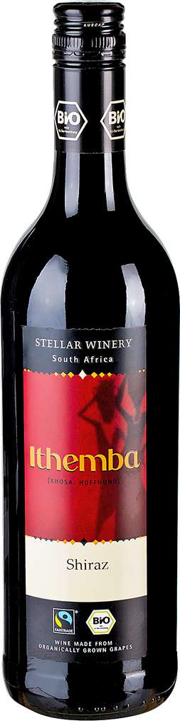 Abbildung des Sortimentsartikels Stellar Winery Bio Shiraz oder Chenin Blanc/Sauvignon Blanc 0,75l