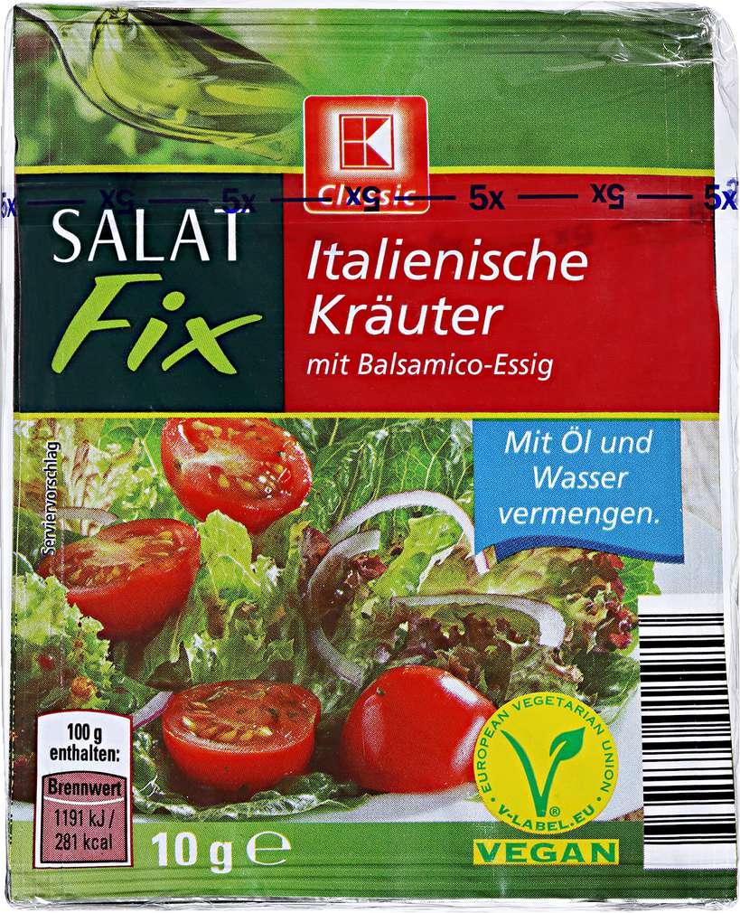 Abbildung des Sortimentsartikels K-Classic Salat Fix Italienische Kräuter 5x10g