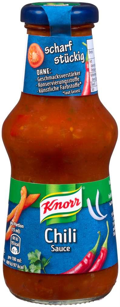 Abbildung des Sortimentsartikels Knorr Chilli Sauce 250ml