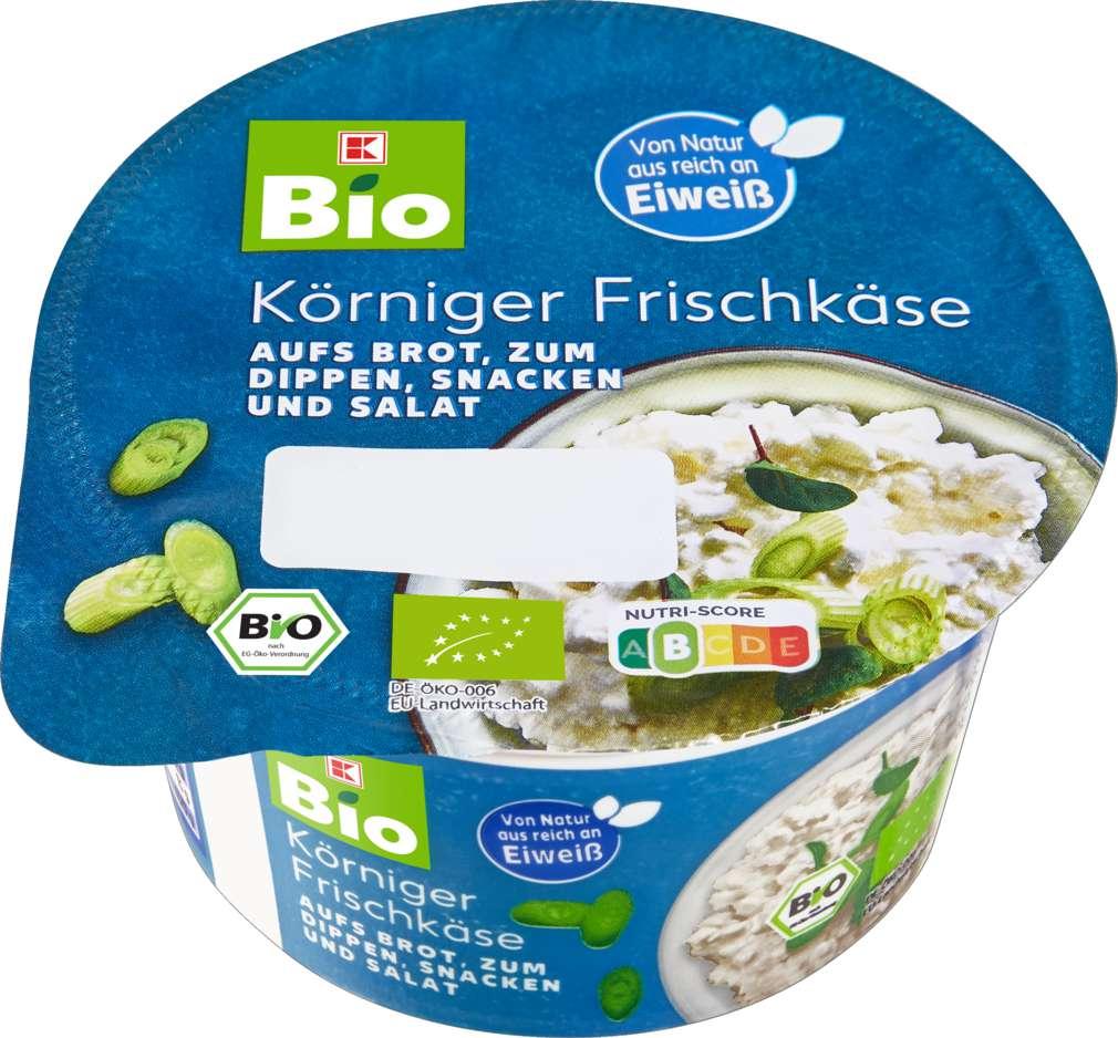 Abbildung des Sortimentsartikels K-Bio Körniger Frischkäse 200g