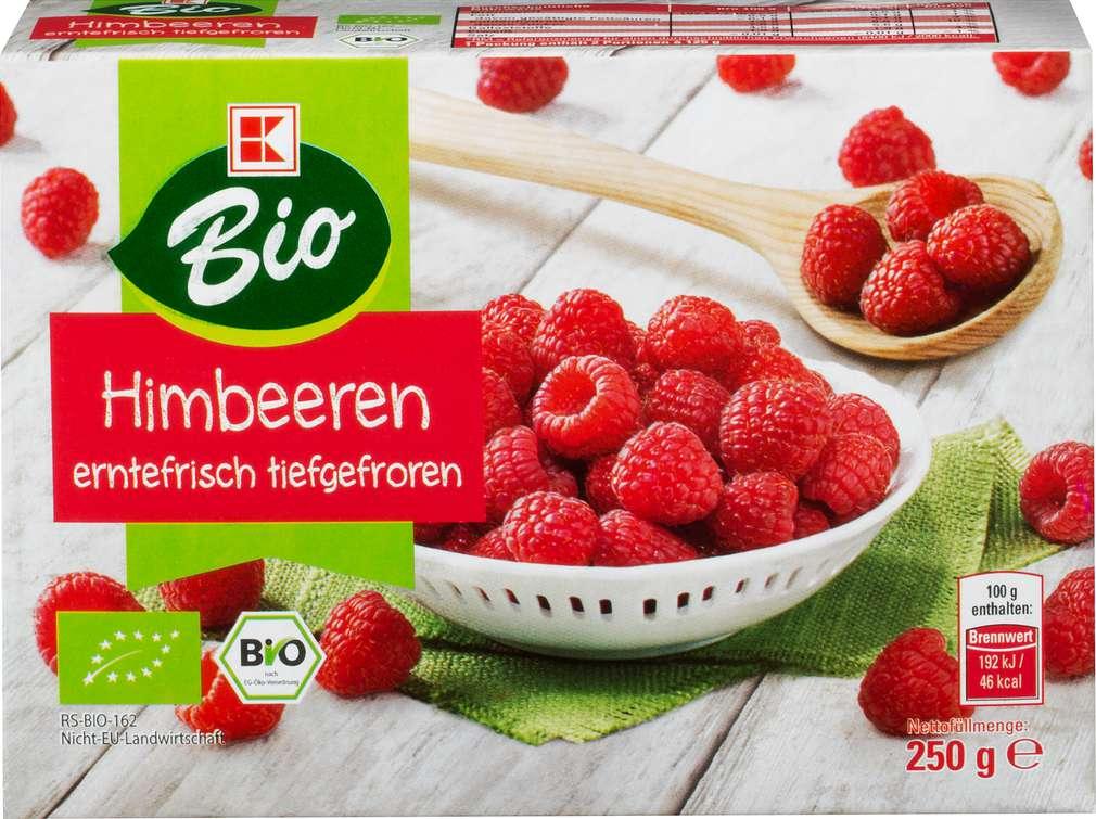 Abbildung des Sortimentsartikels K-Bio Bio-Himbeeren 250g