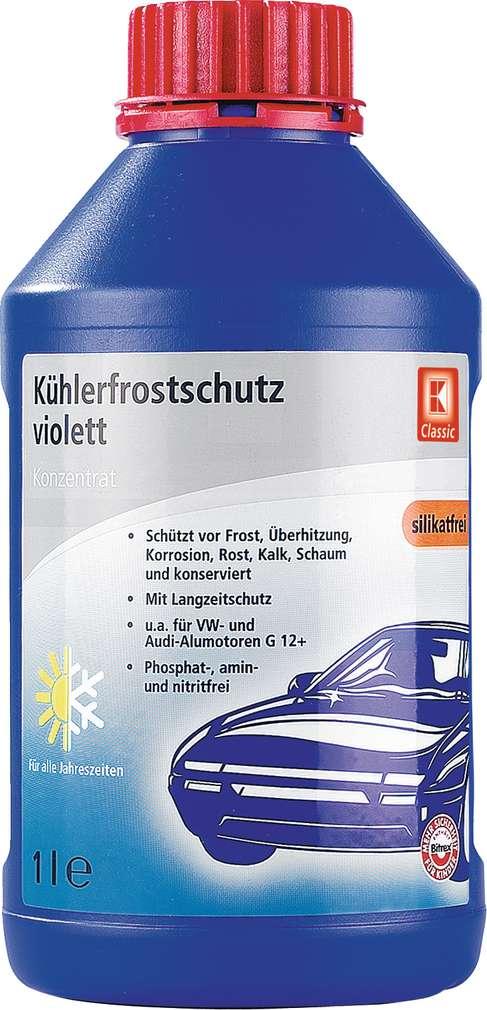 Abbildung des Sortimentsartikels K-Classic Kühlerfrostschutz-Konzentrat Violette 1l