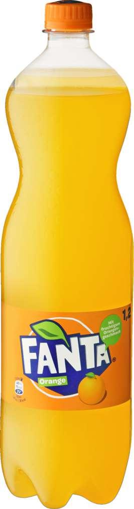 Abbildung des Sortimentsartikels Fanta Orange 6x1,25l