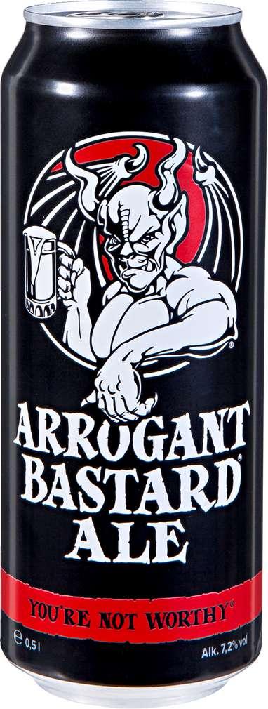 Abbildung des Sortimentsartikels Stone Arrogant Bastard Ale 0,5l