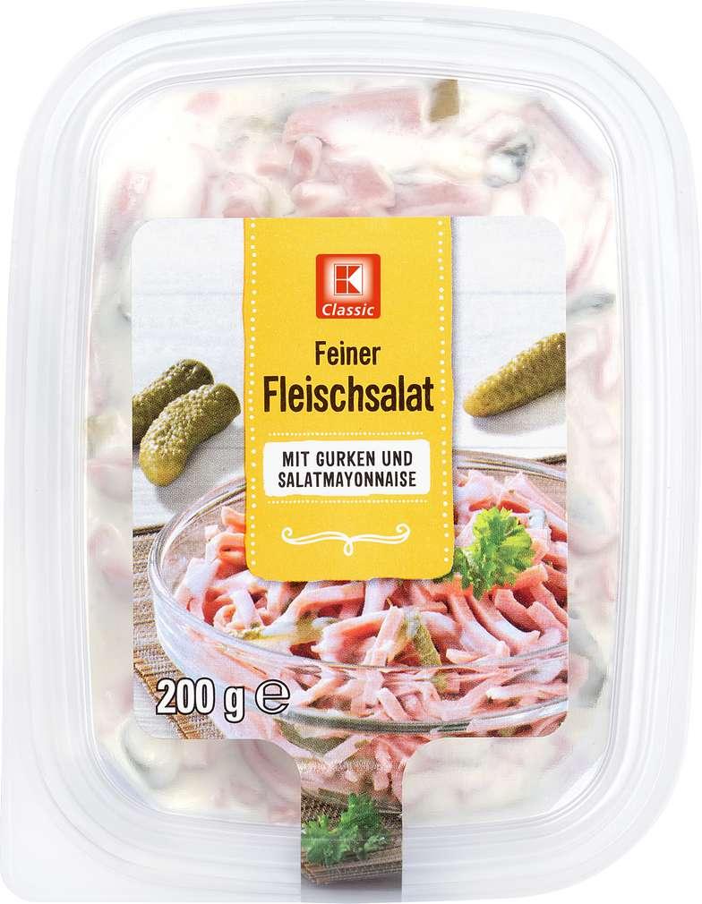 Abbildung des Sortimentsartikels K-Classic Fleischsalat Fein 200g