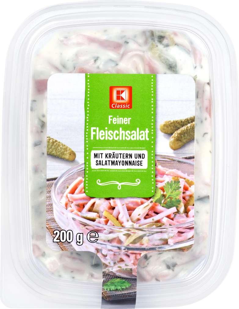 Abbildung des Sortimentsartikels K-Classic Fleischsalat Kräuter 200g