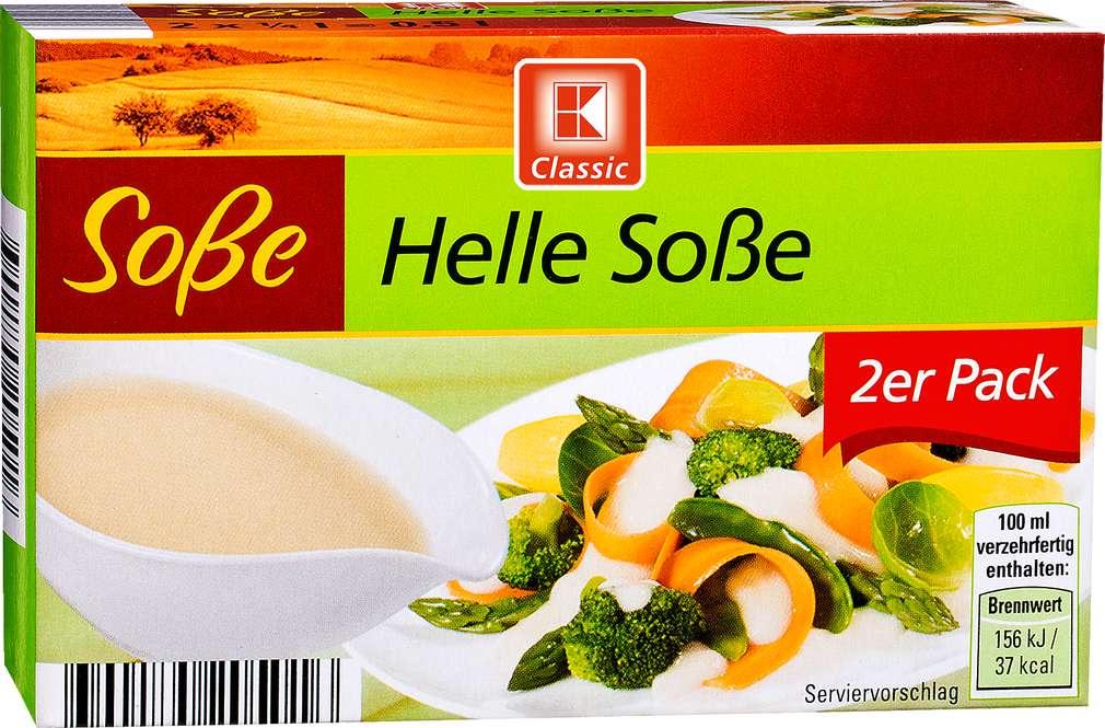Abbildung des Sortimentsartikels K-Classic Helle Soße 2x0,25l