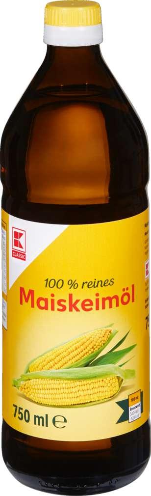Abbildung des Sortimentsartikels K-Classic Maiskeimöl 750 ml