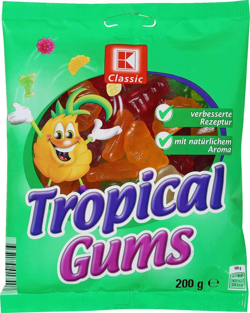 Abbildung des Sortimentsartikels K-Classic Tropical Gums 200g