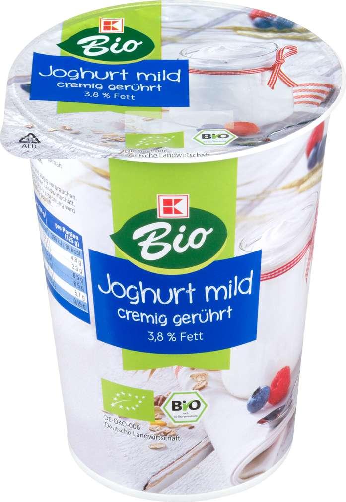 Abbildung des Sortimentsartikels K-Bio K-Bio Joghurt 3,8% Fett, Natur 500g