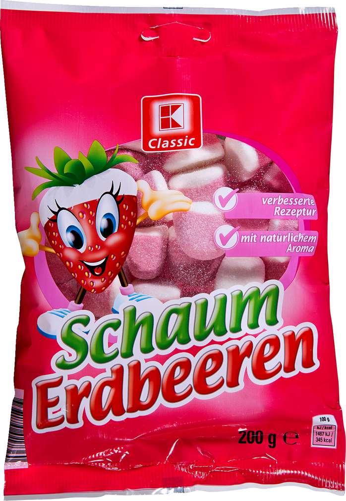 Abbildung des Sortimentsartikels K-Classic Schaum Erdbeeren 200g