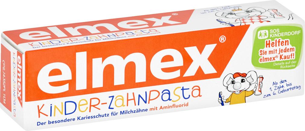 Abbildung des Sortimentsartikels Elmex Kinder-Zahnpasta 50ml