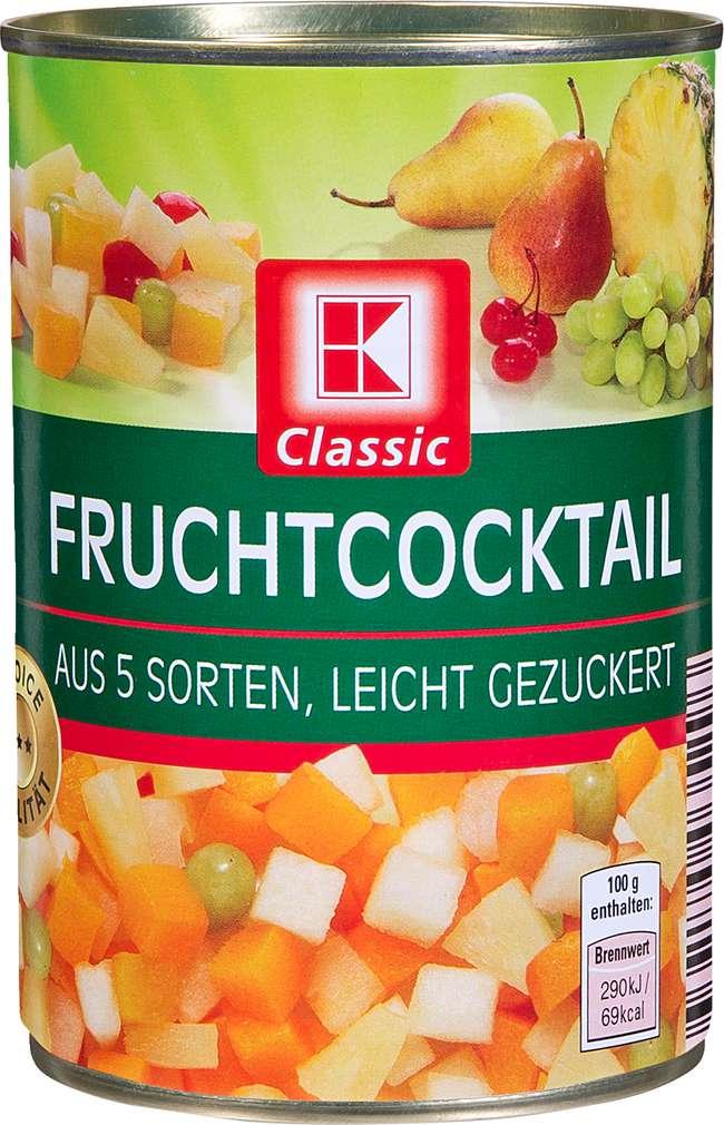 Abbildung des Sortimentsartikels K-Classic Fruchtcocktail 425ml