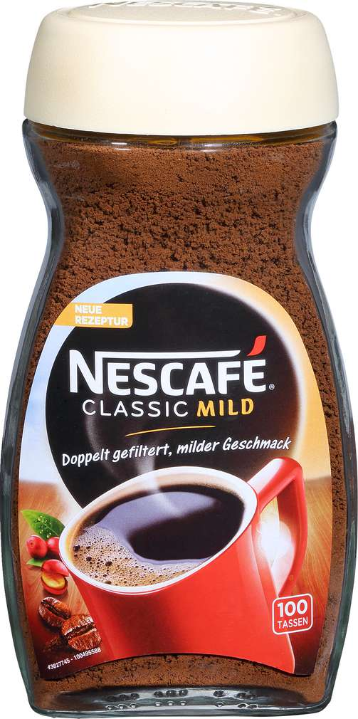 Abbildung des Sortimentsartikels Nescafé Classic mild 200g
