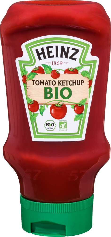 Abbildung des Sortimentsartikels Heinz Bio-Tomaten-Ketchup Squezzeflasche 400ml