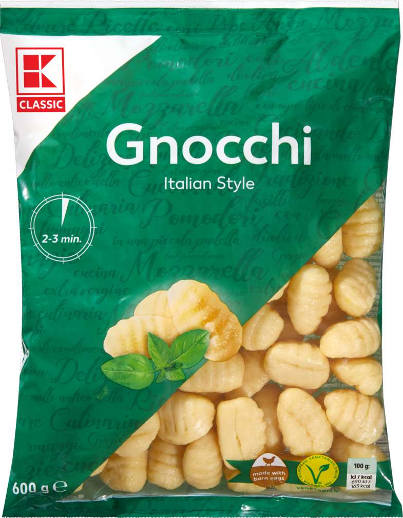 Abbildung des Sortimentsartikels K-Classic Gnocchi 600g