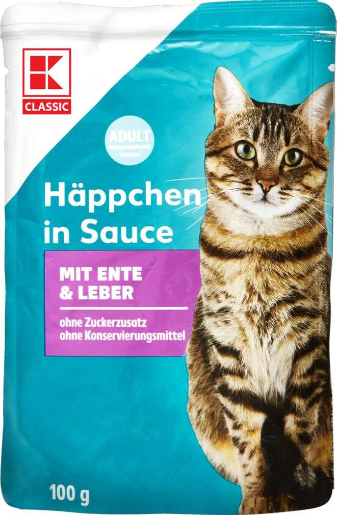 Abbildung des Sortimentsartikels K-Classic Katzennahrung Ente+Leber 100g