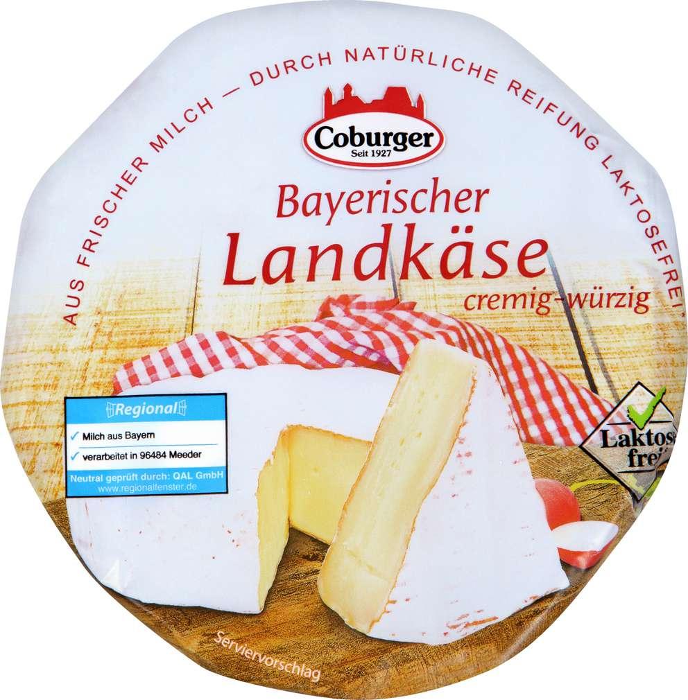 Abbildung des Sortimentsartikels Coburger Bayerischer Landkäse 350g