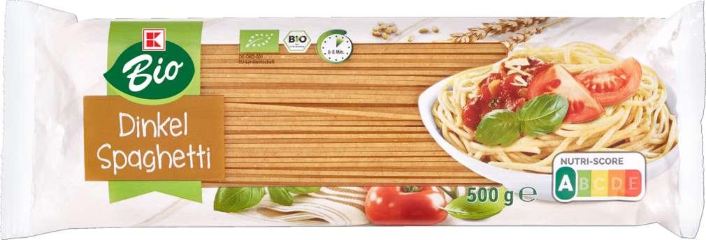 Abbildung des Sortimentsartikels K-Bio Dinkel-Spaghetti 500g
