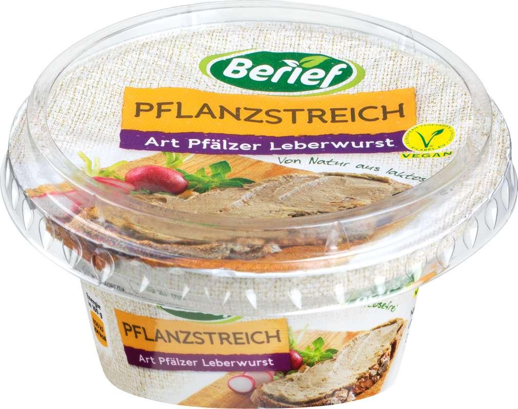 Abbildung des Sortimentsartikels Berief Soja Fit Brotaufstrich Art Pfälzer Leberwurst 125g