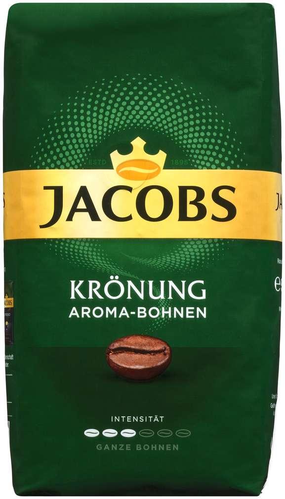 Abbildung des Sortimentsartikels Jacobs Krönung Aroma-Bohnen ganze Bohnen 500g