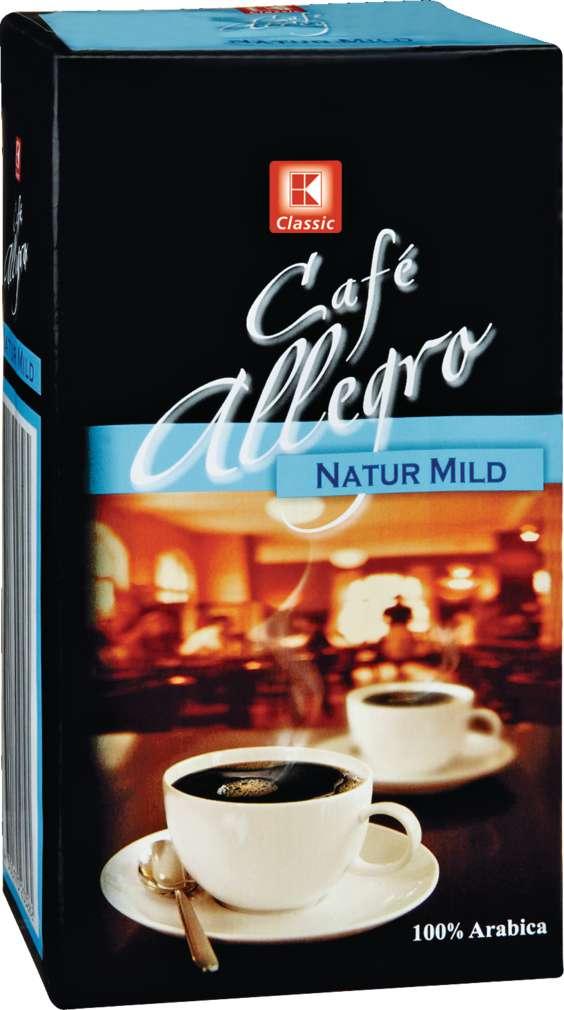 Abbildung des Sortimentsartikels K-Classic Café Allegro Natur Mild 500h