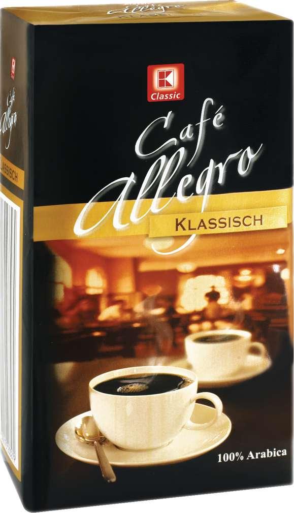 Abbildung des Sortimentsartikels K-Classic Café Allegro Klassisch 500g
