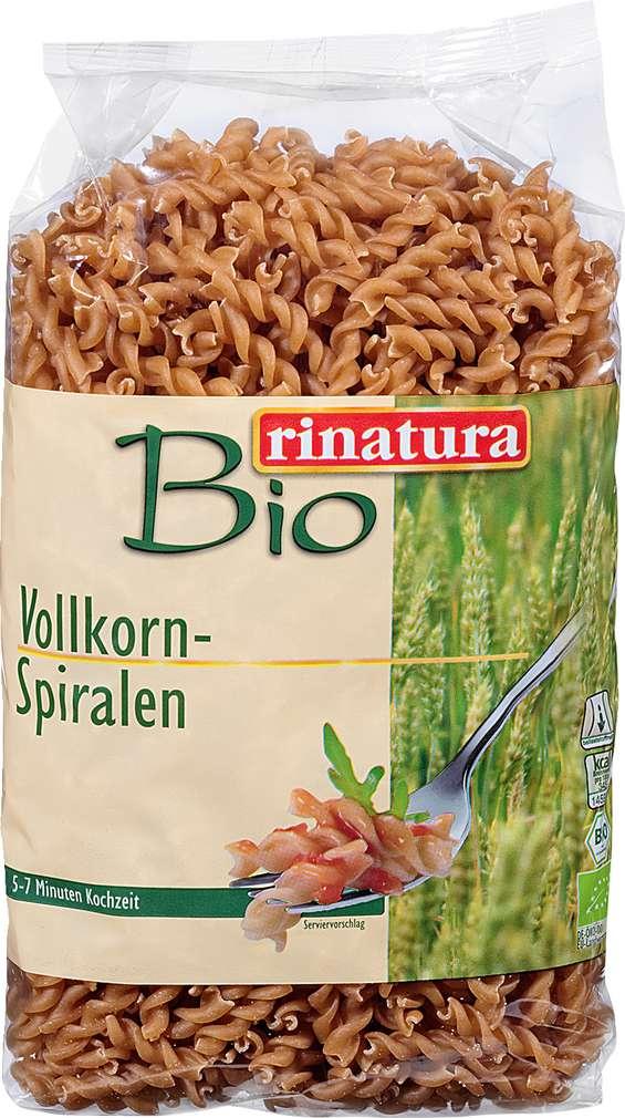 Abbildung des Sortimentsartikels Rinatura Vollkorn-Spiralen 500g