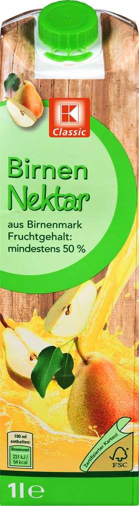 Abbildung des Sortimentsartikels K-Classic Birnen-Nektar 1l