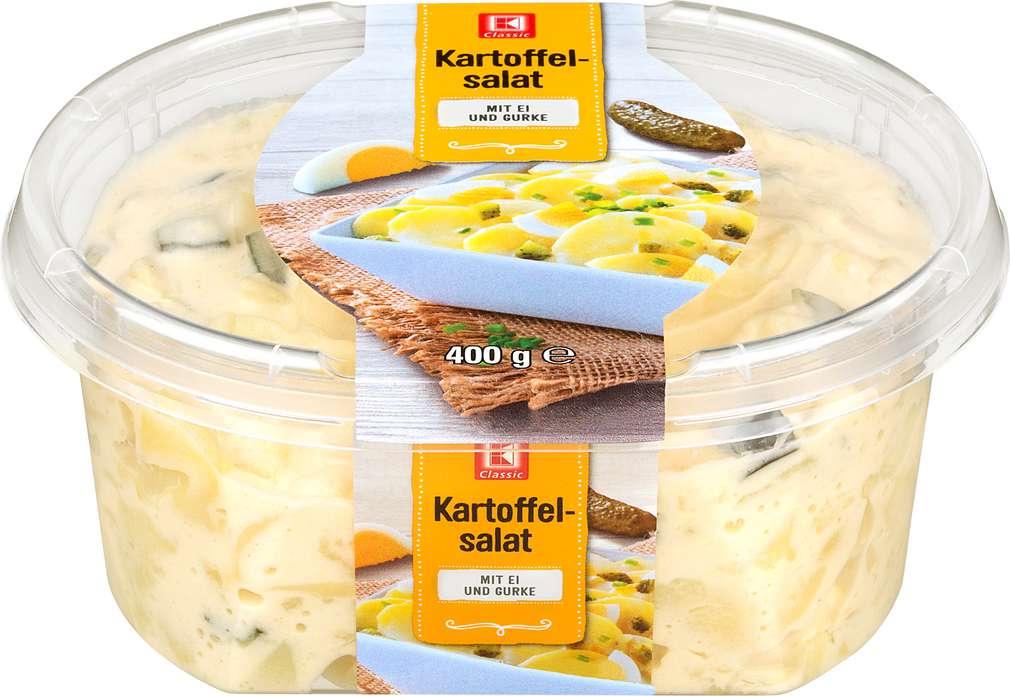 Abbildung des Sortimentsartikels K-Classic Kartoffelsalat Ei & Gurke 400g