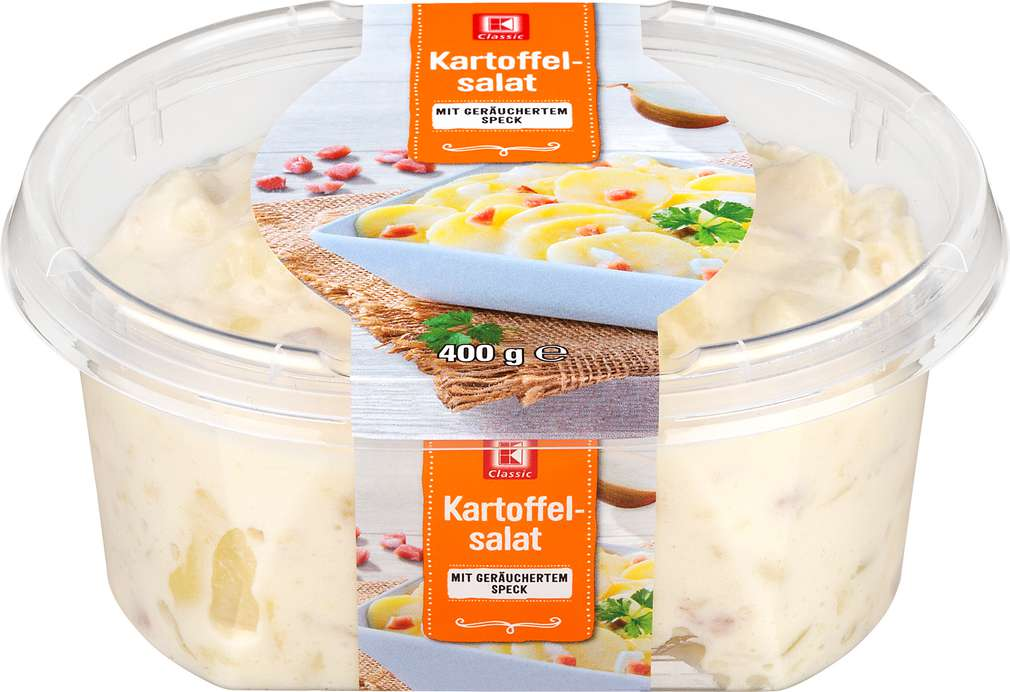 Abbildung des Sortimentsartikels K-Classic Kartoffelsalat Speck 400g