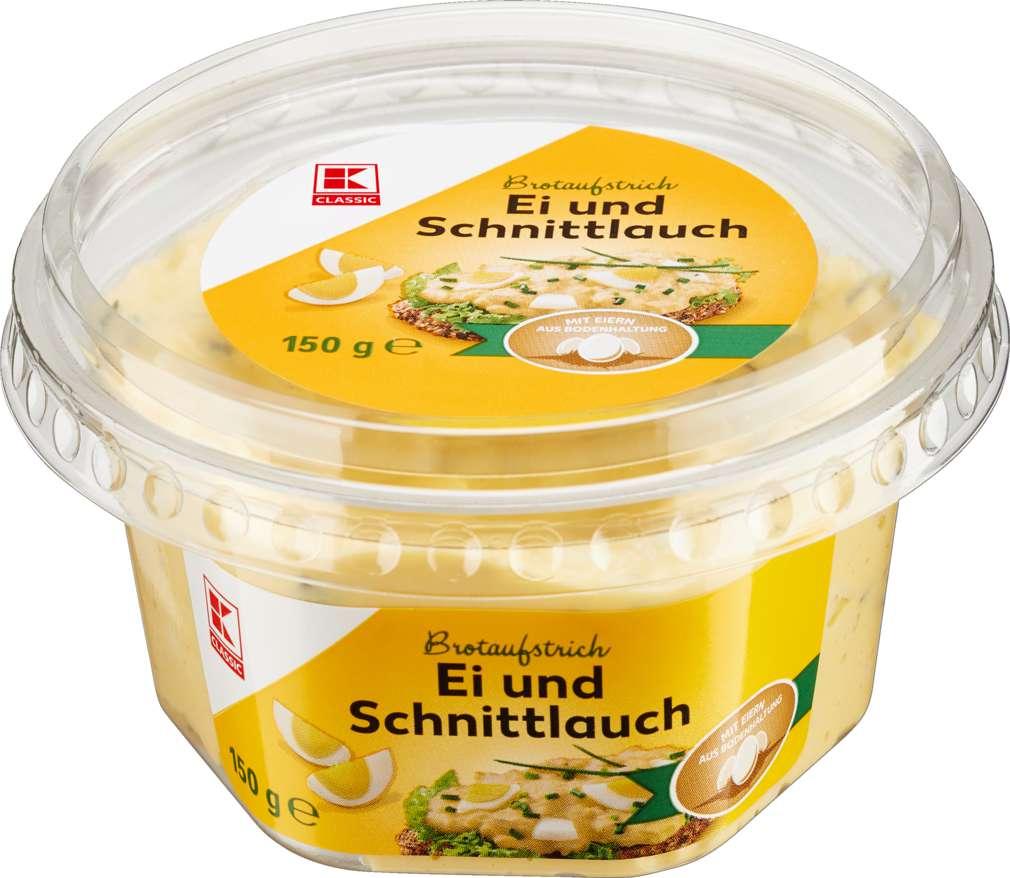 Abbildung des Sortimentsartikels K-Classic Brotaufstrich Ei-Schnittlauch 150g