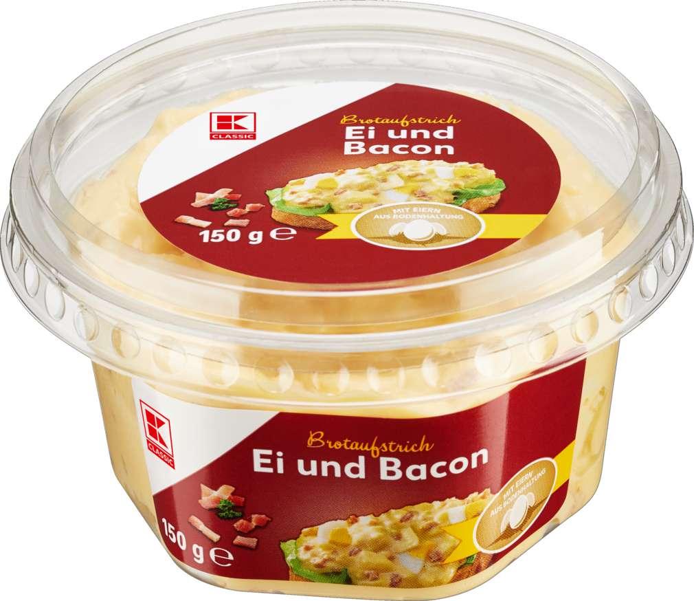 Abbildung des Sortimentsartikels K-Classic Brotaufstrich Ei-Bacon 150g