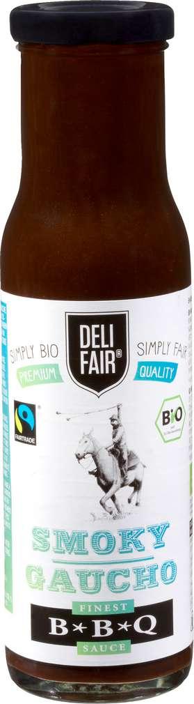 Abbildung des Sortimentsartikels Fair Karma DF Deli Fair Fairtrade Bio-BBQ Smoky Gaucho 240ml