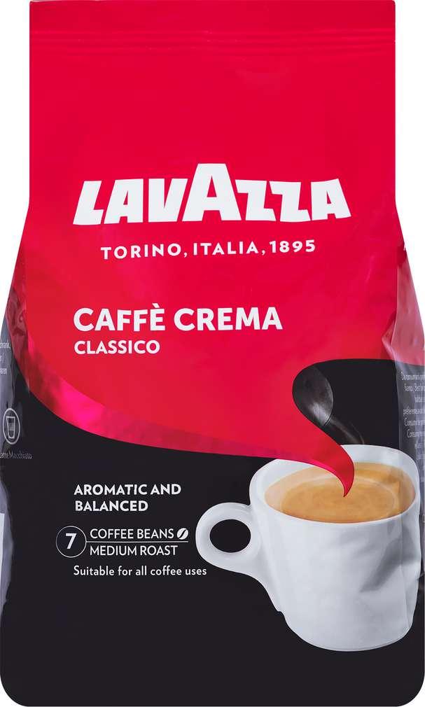 Abbildung des Sortimentsartikels Lavazza Caffè Crema classico ganze Bohnen 1000g