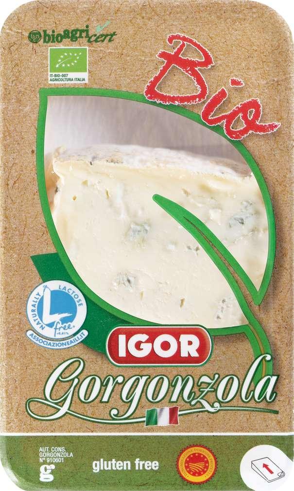 Abbildung des Sortimentsartikels VIP Bio-Gorgonzola DOP Ital.Edelpilzkäse 48% Fett i.Tr. 125g