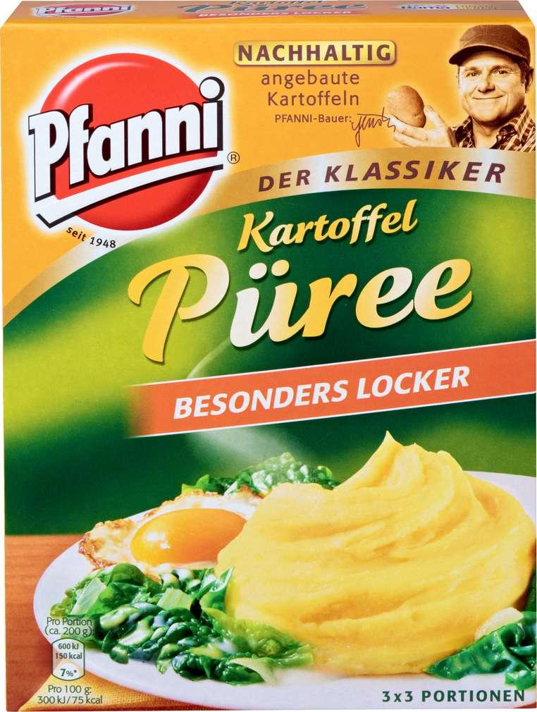 Abbildung des Sortimentsartikels Pfanni Kartoffelpüree besonders locker 3x80g