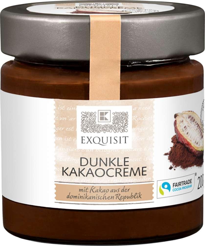 Abbildung des Sortimentsartikels Exquisit Dunkle Kakao-Creme 200g