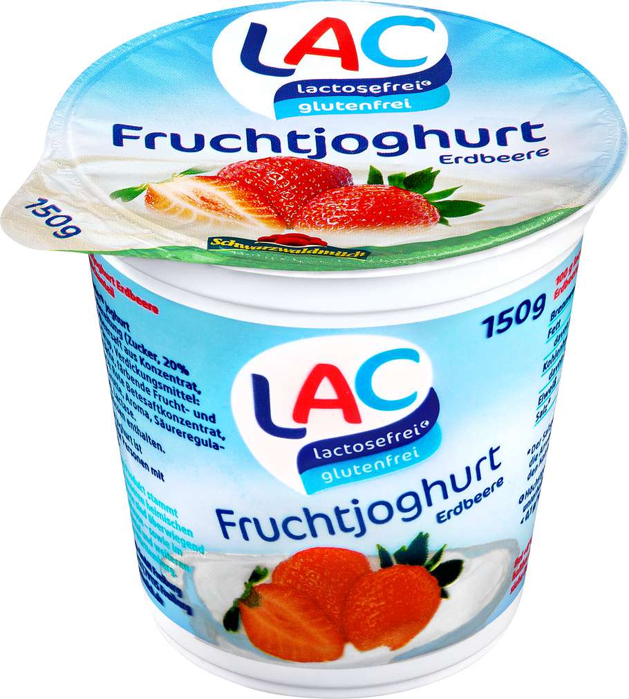 Abbildung des Sortimentsartikels Schwarzwaldmilch Fruchtjoghurt Erdbeere 150g