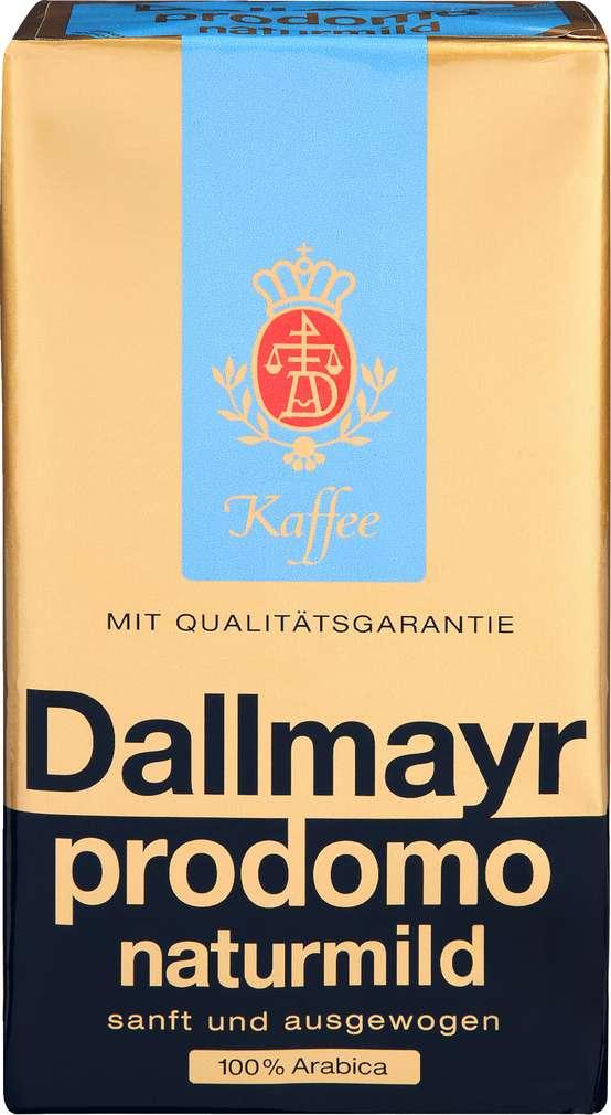 Abbildung des Sortimentsartikels Dallmayr Prodomo Naturmild 500g