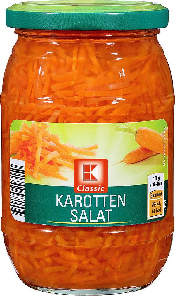 Abbildung des Sortimentsartikels K-Classic Karottensalat 330g