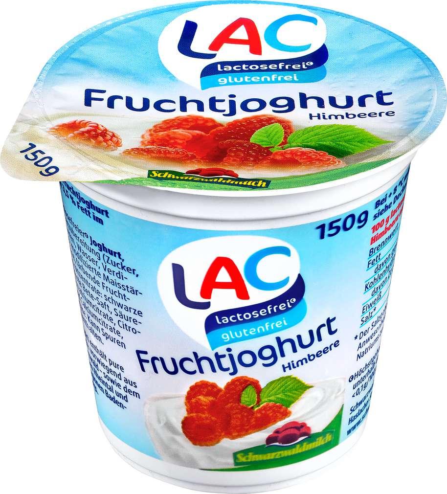 Abbildung des Sortimentsartikels LAC lactosefrei Fruchtjoghurt Himbeere 150g
