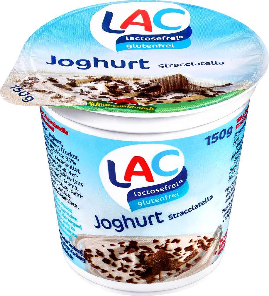 Abbildung des Sortimentsartikels Schwarzwaldmilch Joghurt Stracciatella laktosefrei 150g