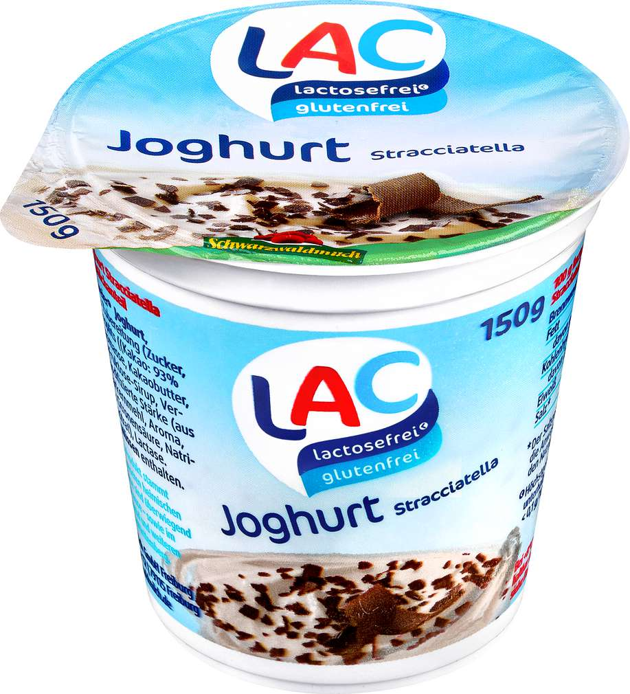 Abbildung des Sortimentsartikels LAC lactosefrei Joghurt Stracciatella laktosefrei 150g