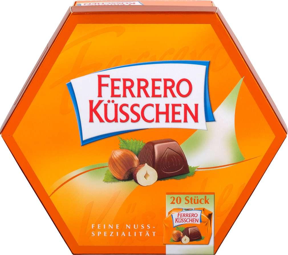 Abbildung des Sortimentsartikels Ferrero Küsschen 178g