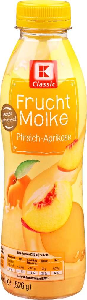 Abbildung des Sortimentsartikels K-Classic Fruchtmolke Pfirsich-Aprikose 500ml