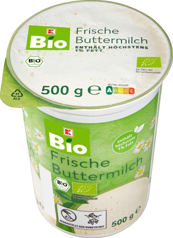 Abbildung des Sortimentsartikels K-Bio Buttermilch 500g