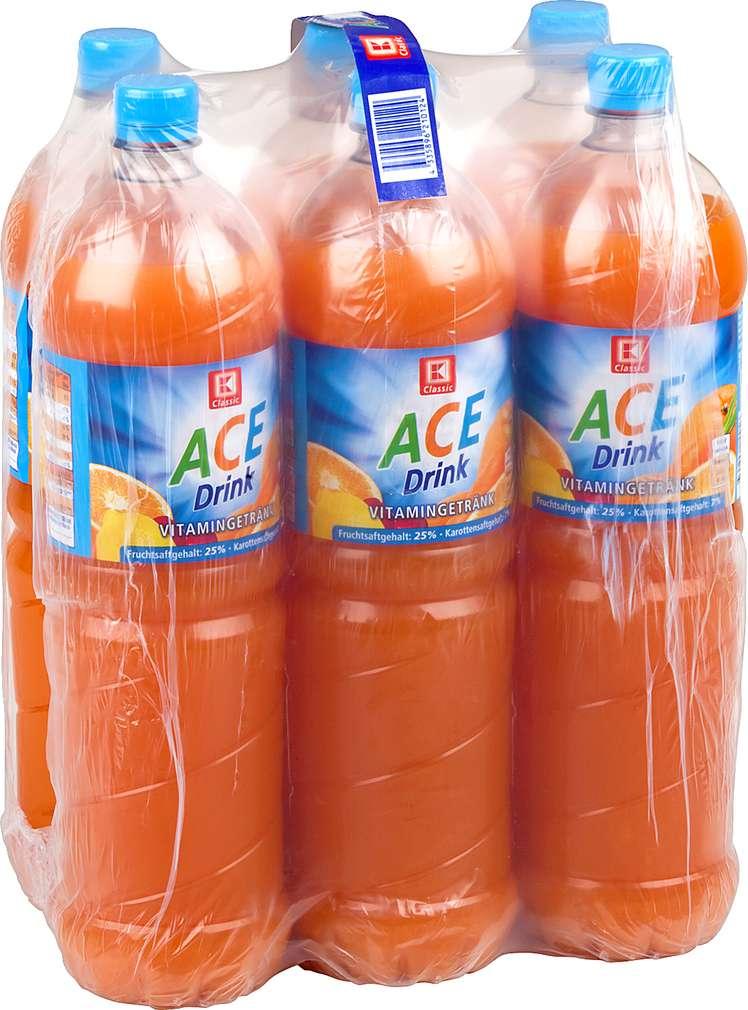 Abbildung des Sortimentsartikels K-Classic ACE-Drink 6x1,5l