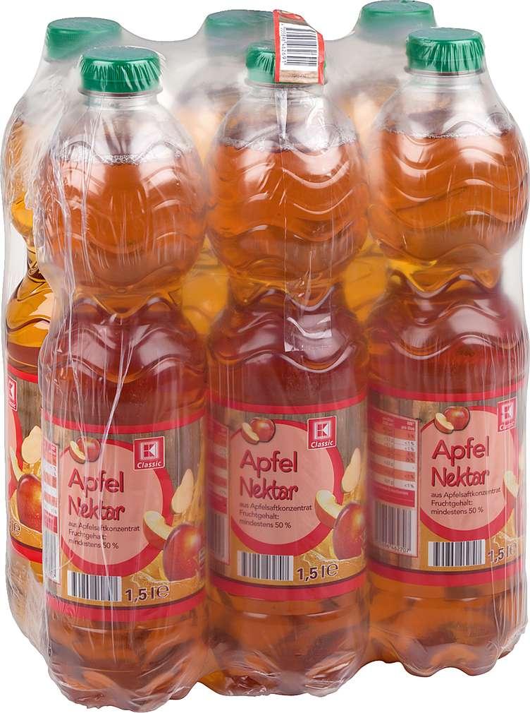 Abbildung des Sortimentsartikels K-Classic Apfel-Nektar 6x1,5l